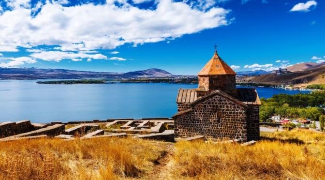 360° Views: Sevanavank Monastery, Armenia (8K)