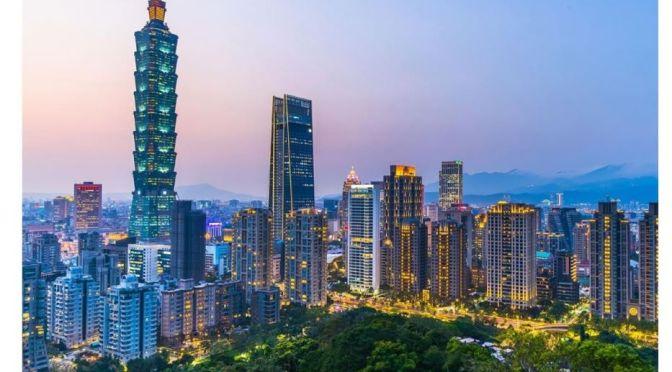 Aerial Travel: Taipei – Capital Of Taiwan (4K)