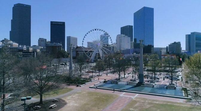 Aerial Views: Atlanta – Northern Georgia (4K)