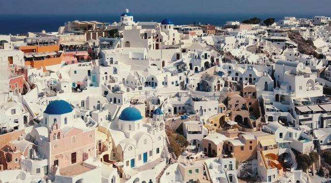 Views: Island Of Santorini – Aegean Sea, Greece (4K)