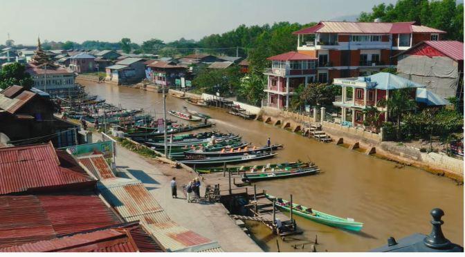 Aerial Views: Myanmar
