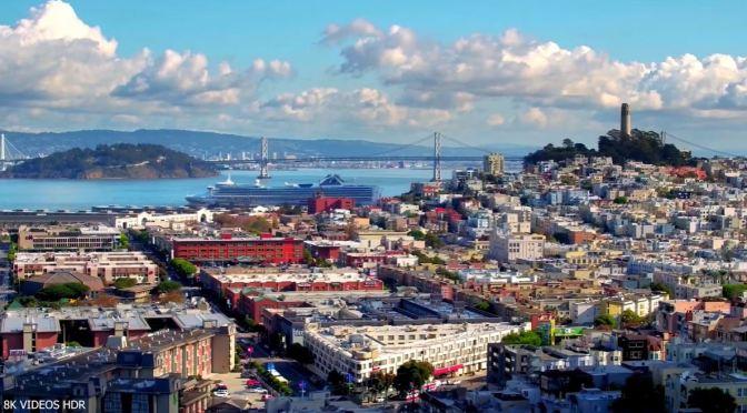 Aerial City Views: San Francisco, California (8K)