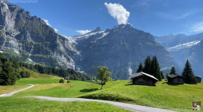 Swiss Hikes: The Village Of Grindelwald (4K)