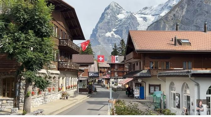 Alpine Village Views: Mürren – Switzerland (4K)