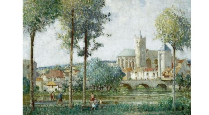Profiles: British Painter William Lee-Hankey – '19th Century Rural France'