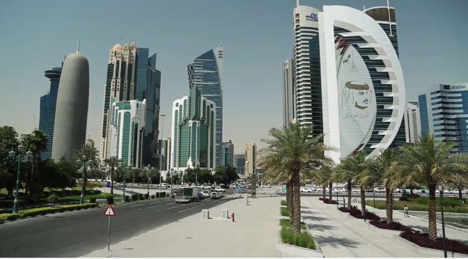 Persian Gulf Views: Doha – Capital Of Qatar (4K)
