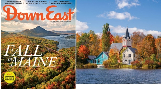 Cover Preview: Down East Magazine – October 2021