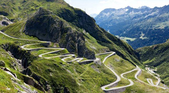 Alpine Drives: Gotthard Pass, Switzerland (4K)