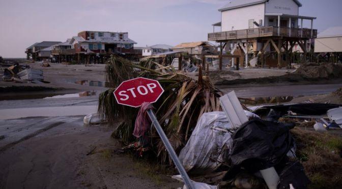 Hurricane Ida Views: 40% Of Buildings Destroyed In Grand Isle, Louisiana (NYT)