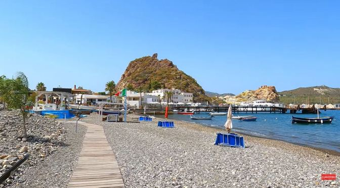 Walks: Vulcano Island – Tyrrhenian Sea, Italy (4K)