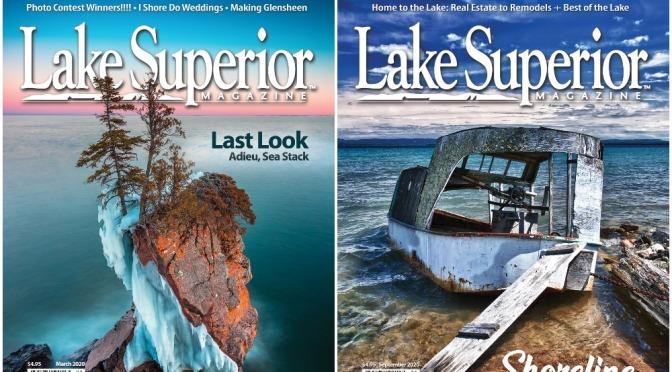 Covers: Lake Superior Magazine – Oct/Nov 2021