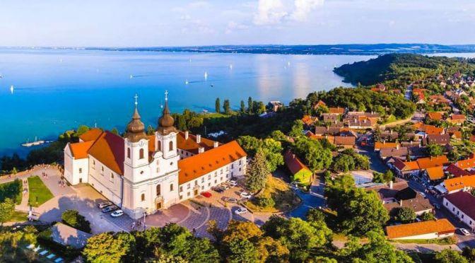 Views: Tihany On Lake Balaton In Hungary (4K)