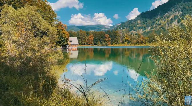 Lake Walks: Offensee In Northern Austria (4K)