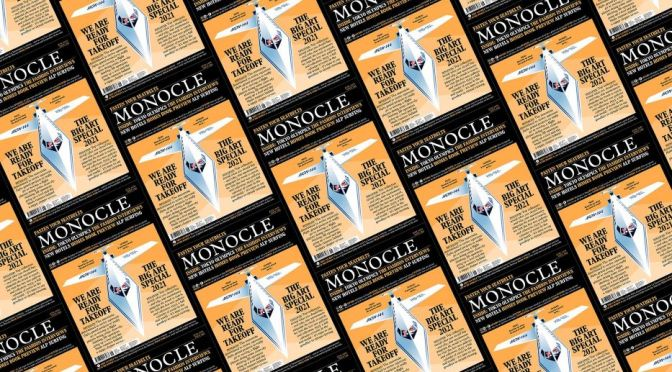 Front Covers: Monocle Magazine – October 2021