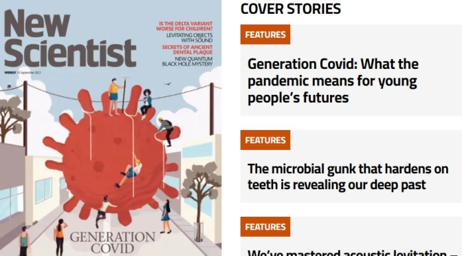 Front Cover Preview: New Scientist Magazine – SEP 18