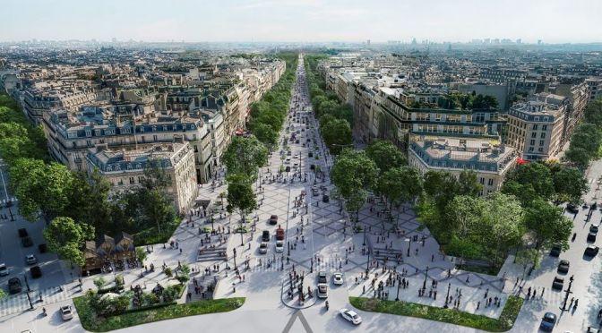 Urban Design: Paris' Grand Plan To Become Europe's Greenest City (Video)