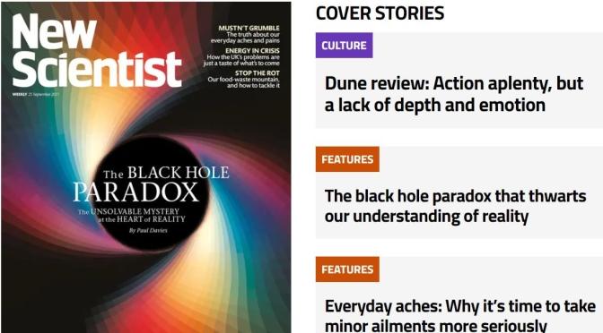 Previews: New Scientist Magazine – September 25