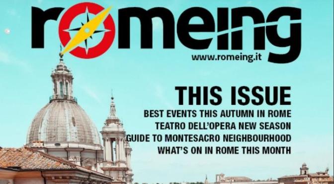 Travel Magazine Covers: Romeing – September 2021