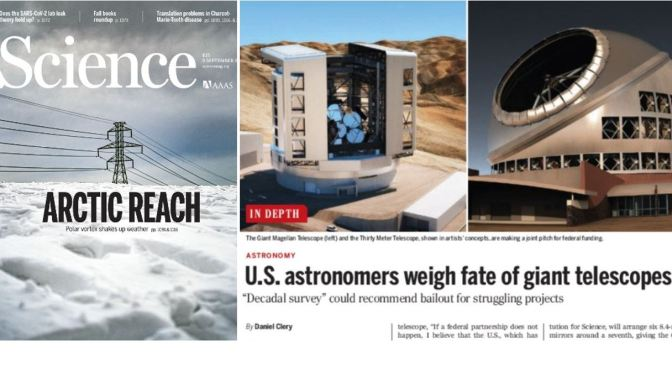 Front Covers: Science Magazine – September 3