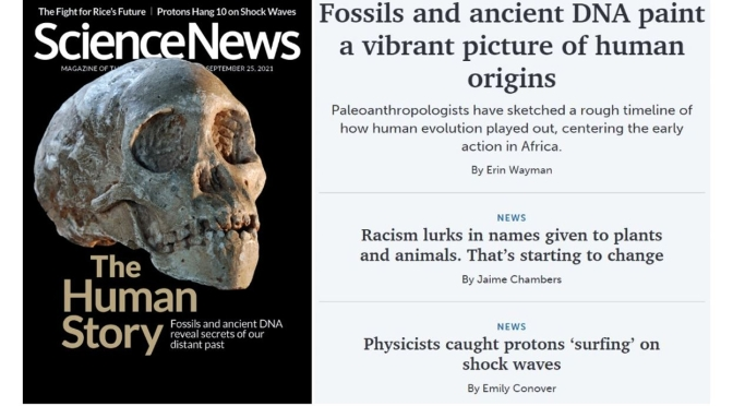 Front Covers: Science News Magazine – SEP 25