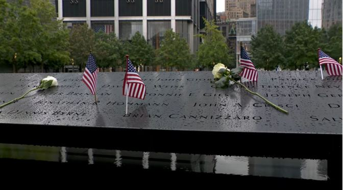 September 11 Views:  Twin Waterfall Pool Memorial – 'Reflecting Absence'