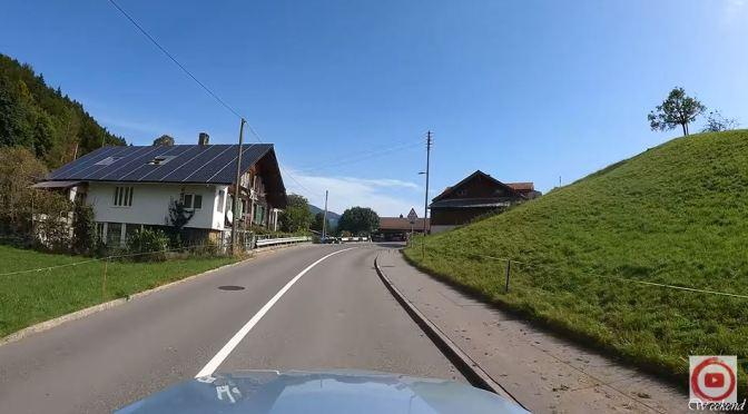 Scenic Drives: Canton Of Bern In Switzerland (4K)