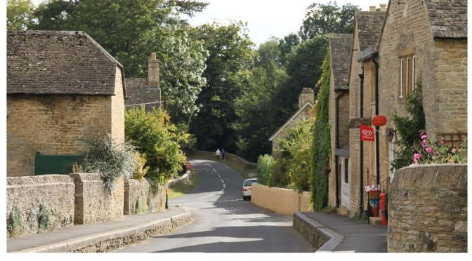 The Cotswolds: History Of Glympton, Oxfordshire