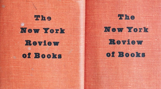 Previews: The New York Review Of Books – OCT 7