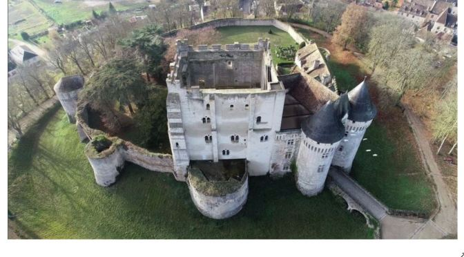 French Views: 'Castle Of The Counts Of Perche'