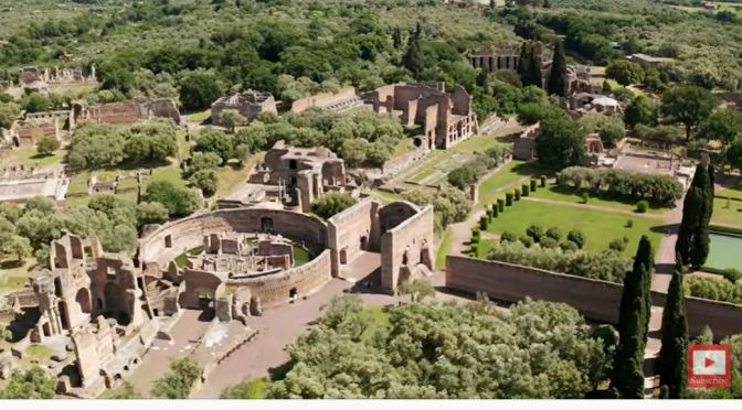 Roman Ruins: Hadrian's Villa, Tivoli, Italy (4K)