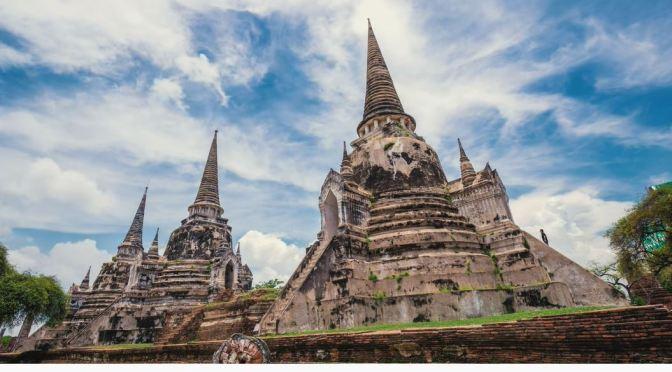 Travel Views: The Ruins Of Ayutthaya In Thailand (4K)