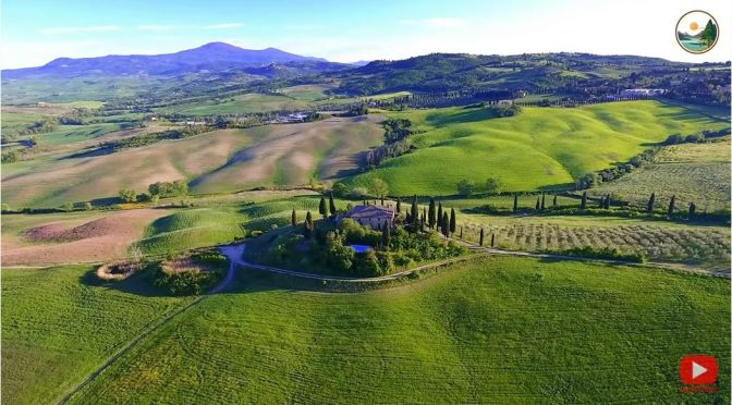 Views: Landscapes Of Tuscany In Italy (4K)