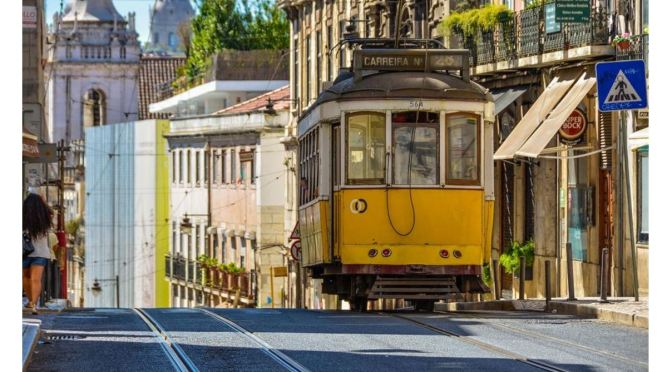 Views: Number 28 Tram Ride In Lisbon, Portugal