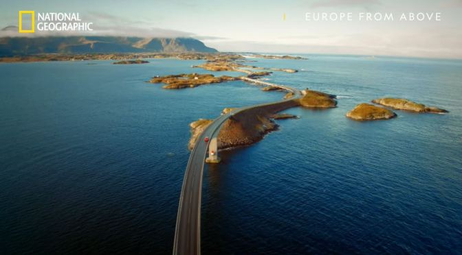 Views: 'The World's Most Scenic Drive – Norway's Atlantic Ocean Road'