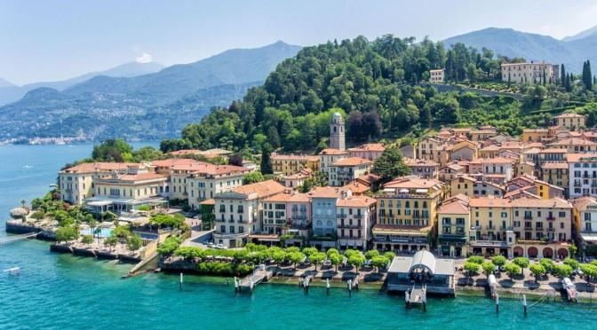 Walking Tours: Bellagio On Lake Como, Italy (4K)
