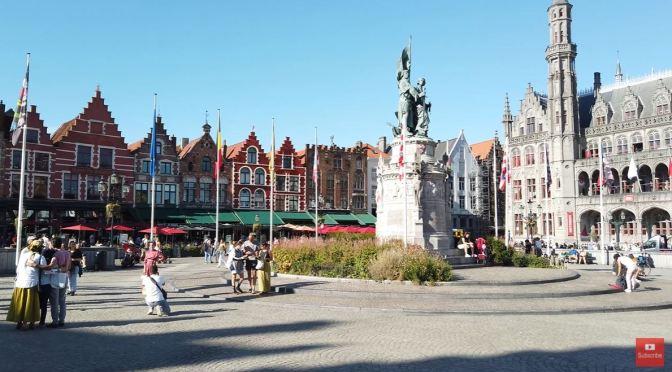 City Walks: Bruges In Northwest Belgium (4K)