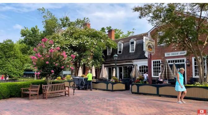 Historic Walks: Colonial Williamsburg, Virginia (4K)