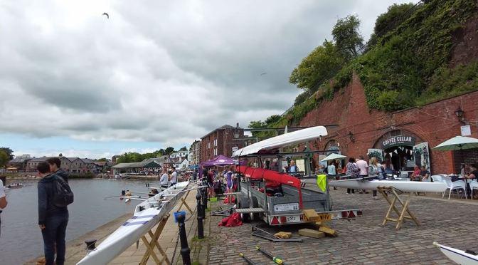 Walks: Exeter Quay In Southwest England (4K)