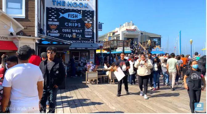 Walks: Fisherman's Wharf & Pier 39 In San Francisco