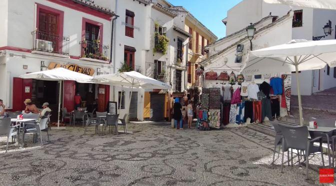 Walking Tours: Granada In Southern Spain (4K)