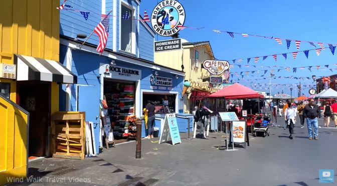 Walks: Old Fisherman's Wharf & Cannery Row In Monterey, California