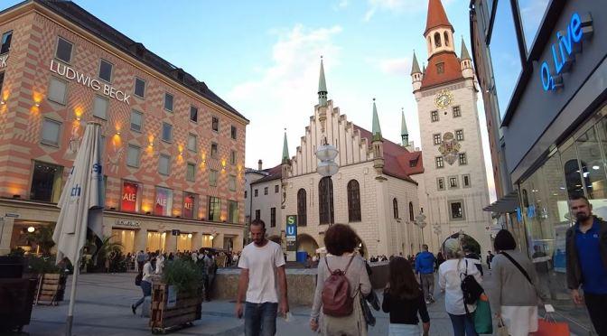 Walking Tour: Munich In Bavaria, Germany (4K)