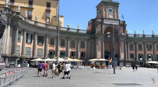 Walking Tour: Naples – Southwestern Italy (4K)