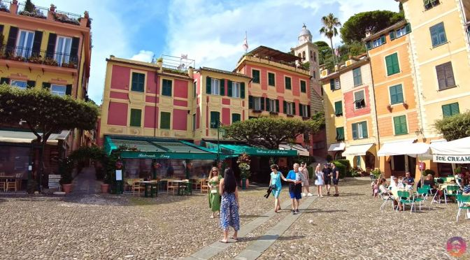 Village Walks: Portofino – The Italian Riviera (4K)