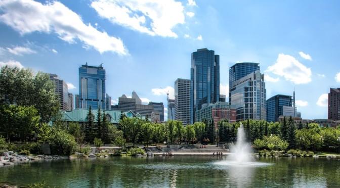 Walks: Prince's Island Park, Calgary, Canada (4K)