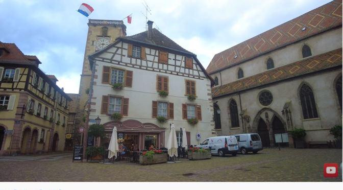 Walking Tour: Ribeauvillé – Northeast France (4K)