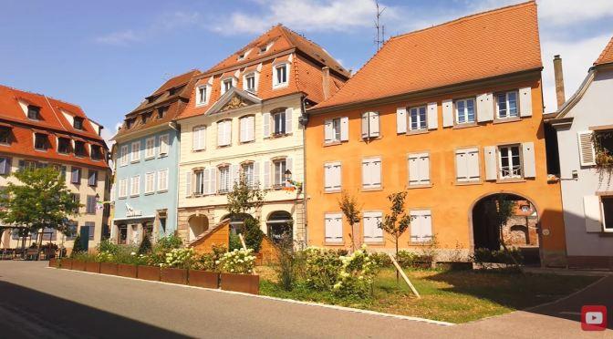 Walking Tour: Sélestat – Northeast France (4K)
