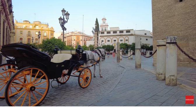 Walking Tour: Seville In Southwestern Spain (4K)