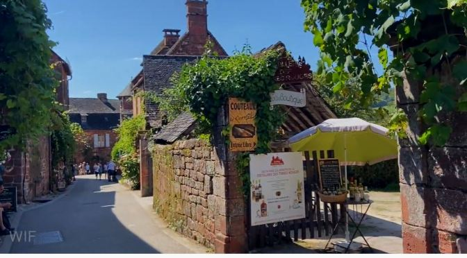 French Walks: Collonges-la-Rouge – The Red Village