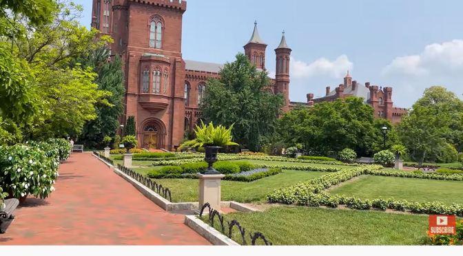 Scenic Walks: Smithsonian Gardens – Washington DC